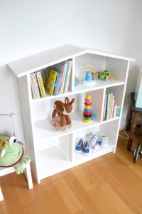 Dollhouse Baby Bookcase