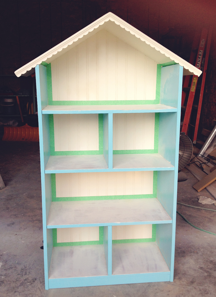 15 diy dollhouse bookcase plans guide patterns for Simple bookshelf designs for home