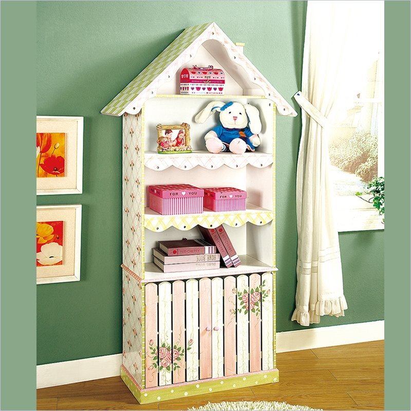 15 diy dollhouse bookcase plans guide patterns for Kids room book shelf