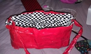 Duct Tape Purse Tutorial