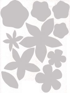Felt Flower Template Printable