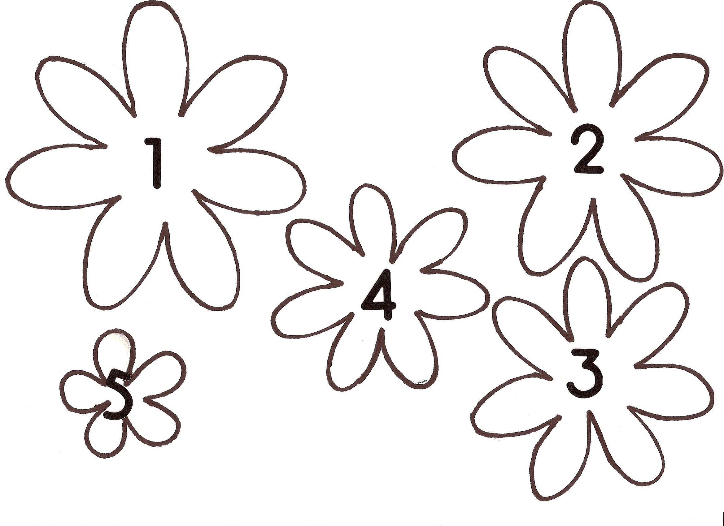 Patterns For Felt Flower
