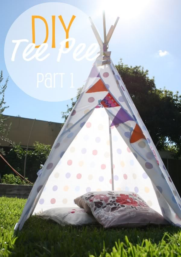 24 Easy Diy Teepee Plans Guide Patterns