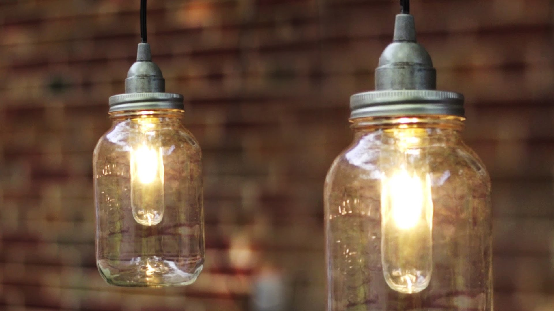 Mason Jar Wall Sconce Tutorial