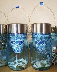 How to Make Mason Jar Solar Lanterns