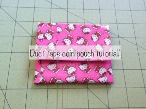 How to Make a Duct Tape Mini Purse