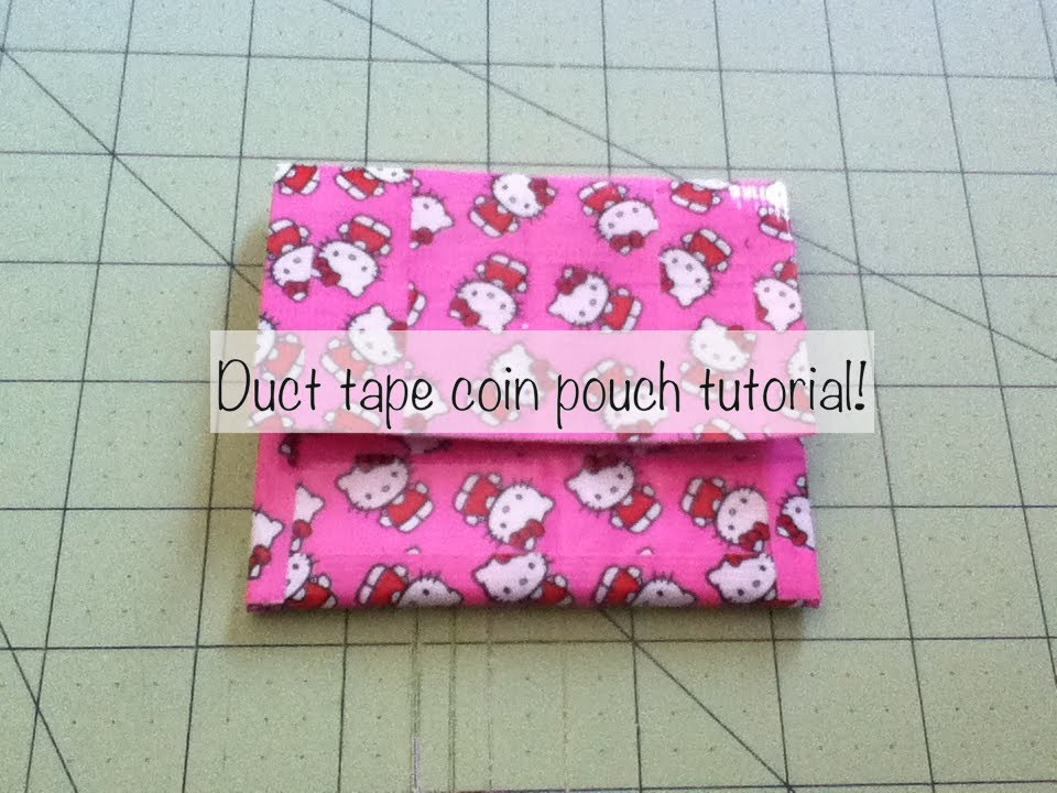 How to Make Duct Tape Purse  22 DIY Instructions  b37b8fc0e963f