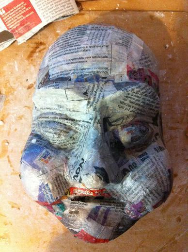 23 cool paper mache mask ideas guide patterns for Homemade papier mache