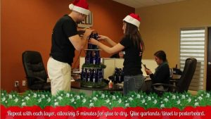 How to Make a Wine Bottle Christmas Tree