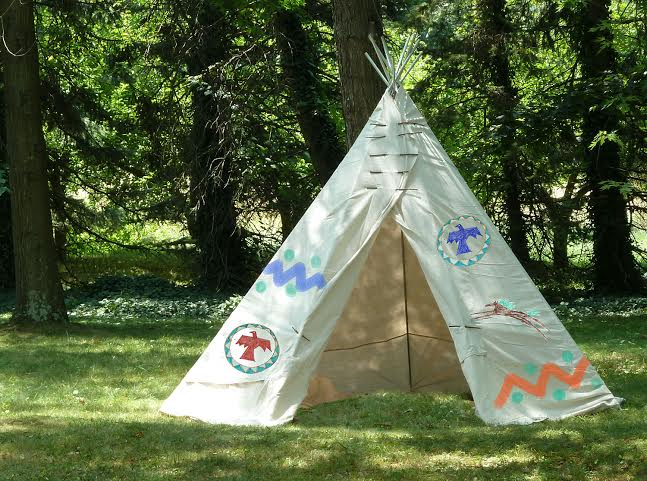 Indian DIY Teepee & 24 Easy DIY Teepee Plans | Guide Patterns