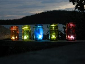 Mason Jar Lanterns Wedding