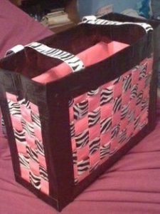 Messenger Duct Tape Purse