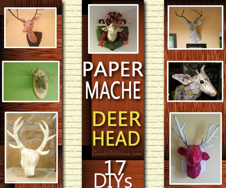 Paper Mache Deer Head Ideas