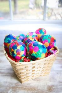 Easter Paper Mache Eggs