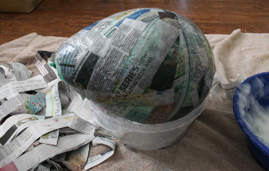 15 diy paper mache eggs guide patterns for Paper mache ingredients