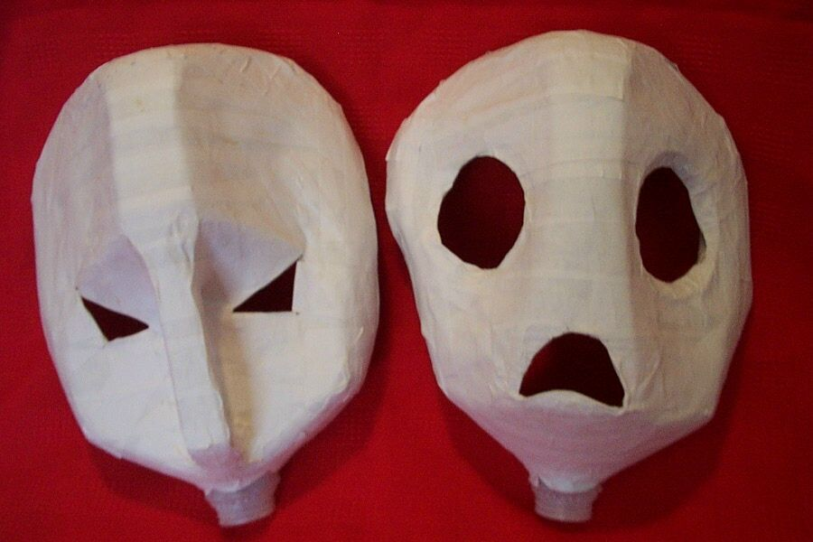 halloween mask craft ideas 23 cool paper mache mask ideas guide patterns 4613