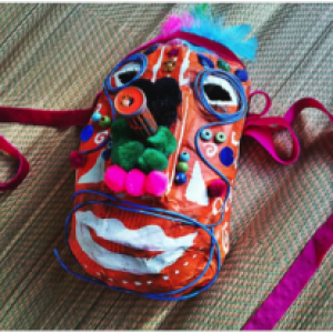 Paper Mache Masks for Kids