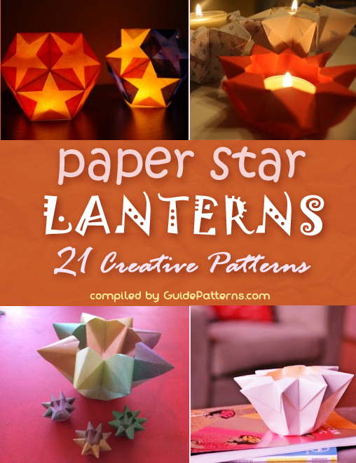 Paper Star Lantern Ideas