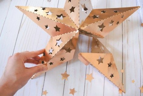 21 creative paper star lanterns pattern guide patterns for How to make a paper design