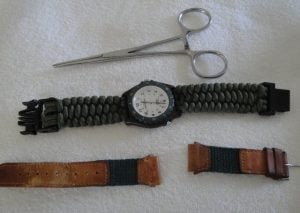 Paracord Watch Band Idea