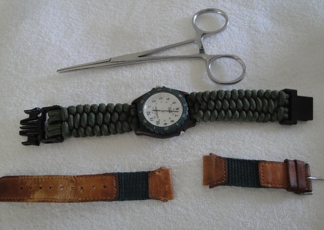 10 paracord watch band diy projects guide patterns for Diy hammock straps paracord