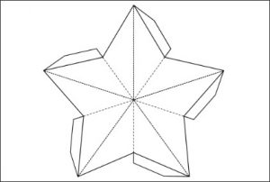 Printable Paper Star Template