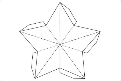 21 creative paper star lanterns pattern guide patterns printable paper star template maxwellsz