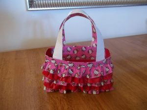 Ruffle Duct Tape Purse