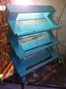 Shoe Rack Made From Pallets