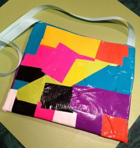 Simple Duct Tape Purse