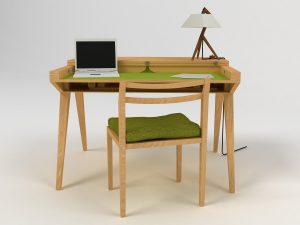 Small Sawhorse Desk