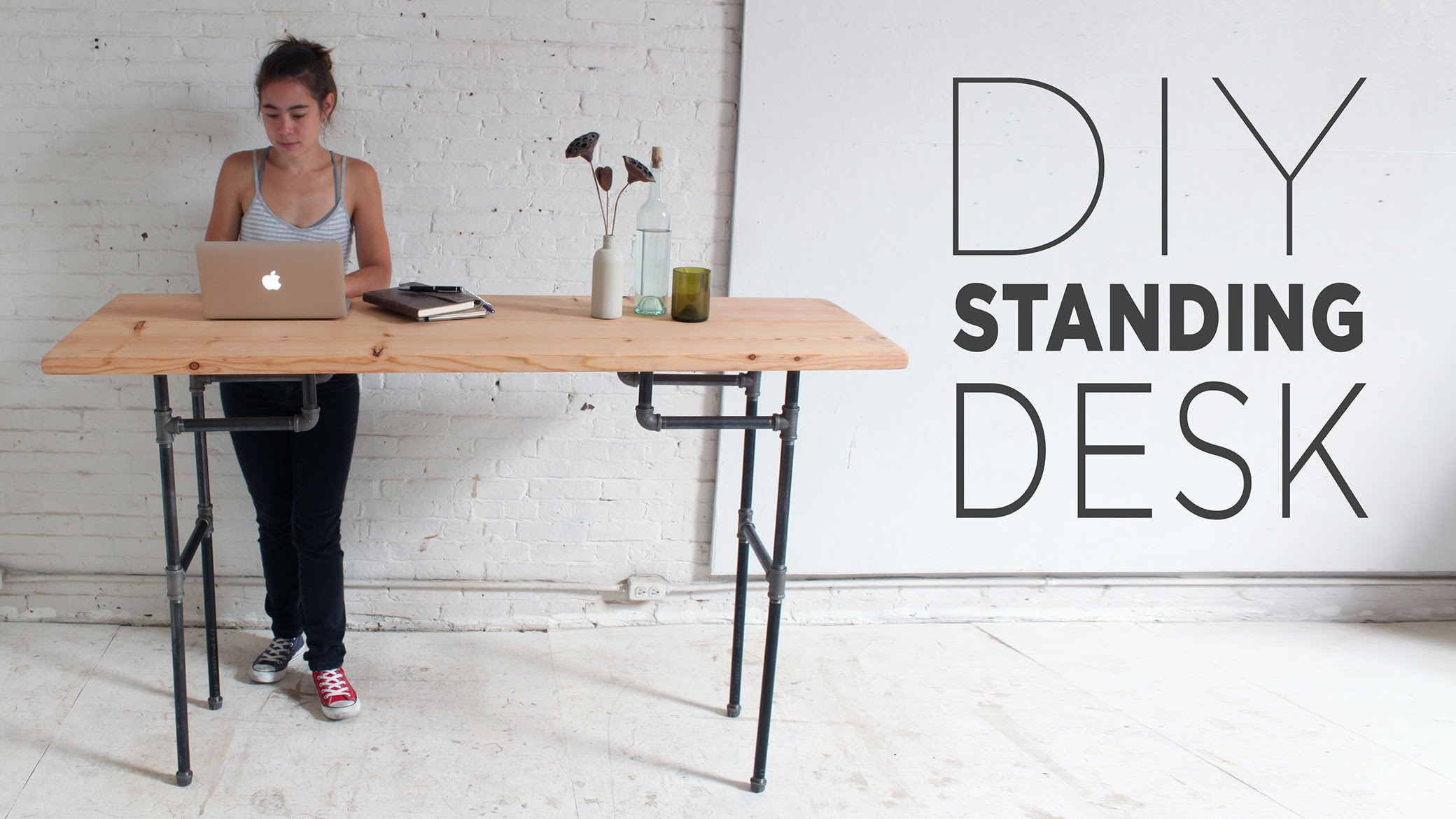 Stand Up Desk Designs : Diy standing or stand up desk ideas guide patterns