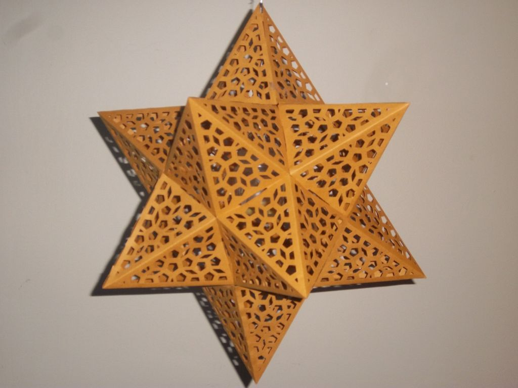21 creative paper star lanterns pattern guide patterns for Paper star lamp