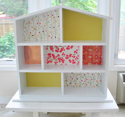 15 DIY Dollhouse Bookcase Plans