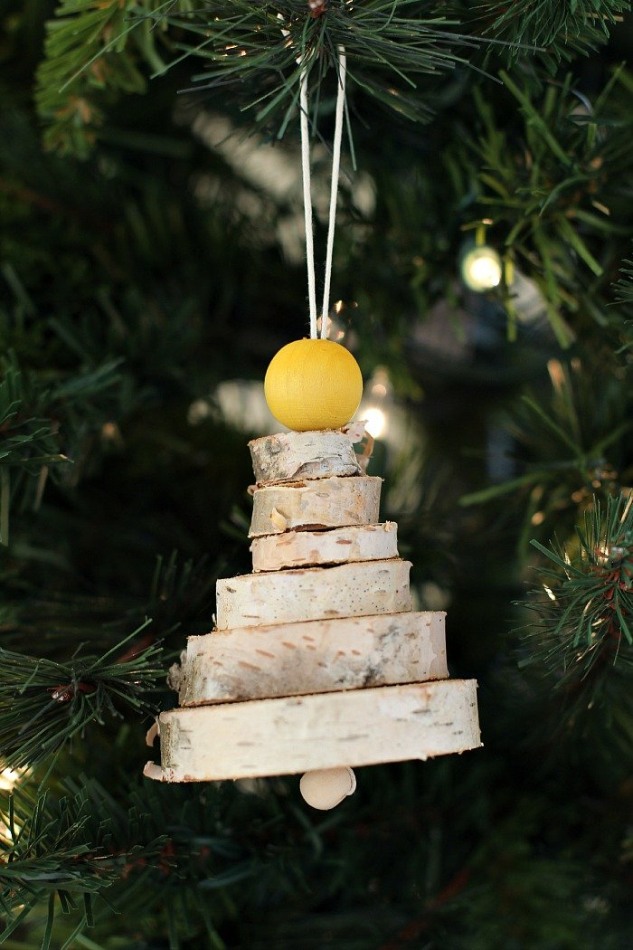 wooden christmas tree decoration - Wooden Christmas Tree Decorations