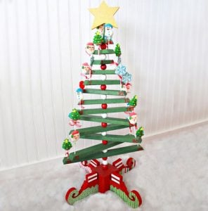 Wooden Christmas Tree Idea