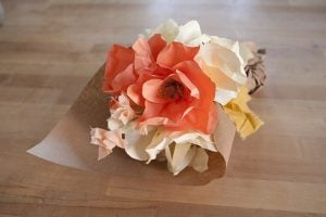 Crepe Paper Flower Bouquet
