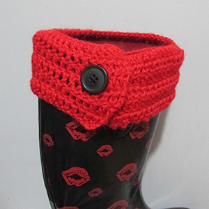 Crochet Boot Cuff Topper