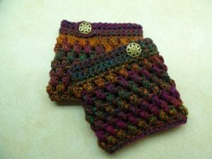 Crochet Boot Cuffs Tutorial