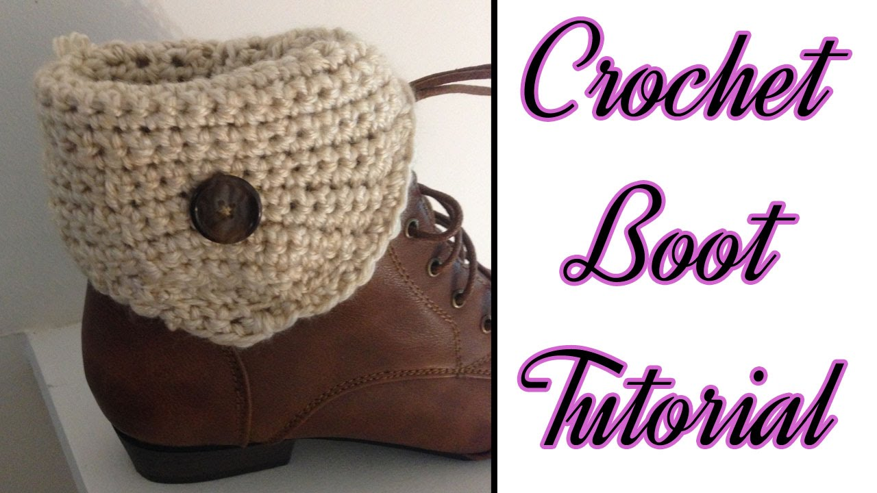Free Crochet Patterns For Boot Cuffs With Buttons : 23 Free Crochet Boot Cuffs Pattern Guide Patterns