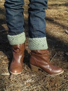 Crochet Pattern Boot Cuffs