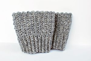 Crochet Reversible Boot Cuffs