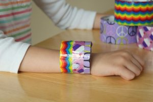 Duct Tape Bracelet for Kids