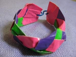 Duct Tape Braided Bracelet