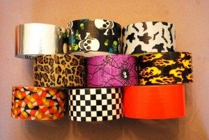 Duct Tape Halloween Bracelets