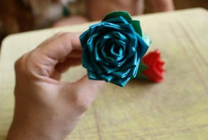 Duct Tape Rose Instructions