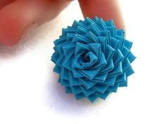 Duct Tape Rose Ring Instructions