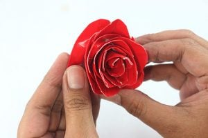 Instructions for Duct Tape Rose
