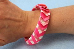 Duct Tape Spike Bracelet