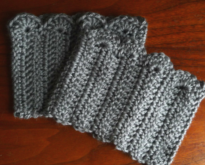 Free Knitting Pattern For Boot Cuffs : 23 Free Crochet Boot Cuffs Pattern Guide Patterns